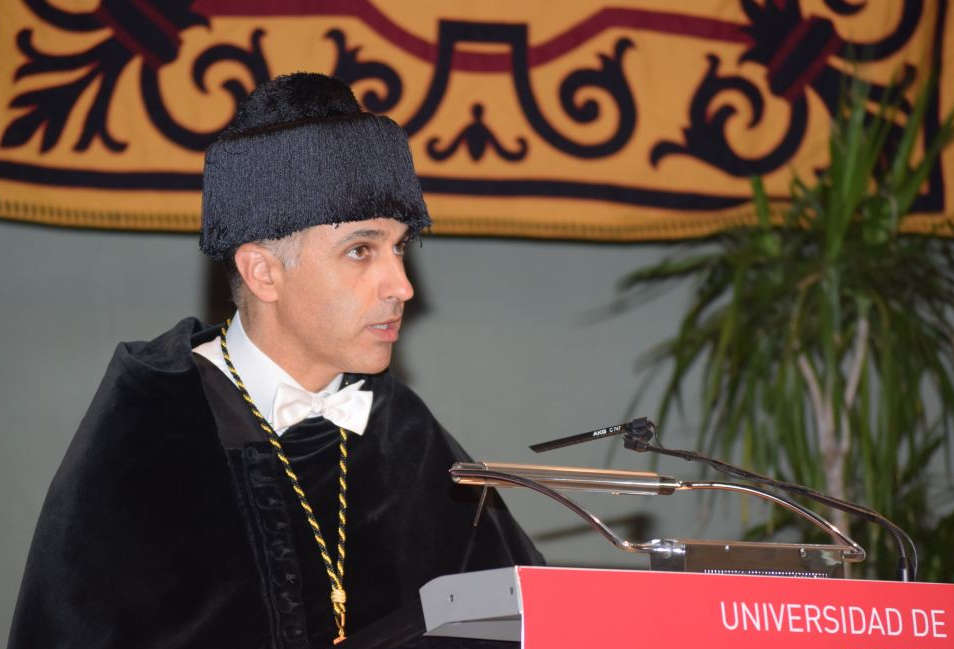 Rector de la universidad
