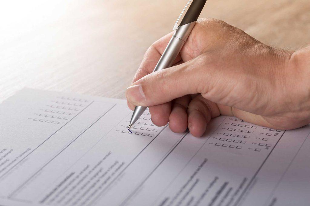 Cómo aprobar examen tipo test.